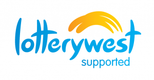 Lotterywest Supported Logo